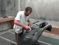 Замена переднего бампера HYUNDAI Solaris