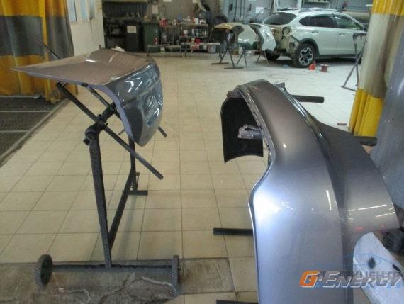 Ремонт задней части AUDI A6