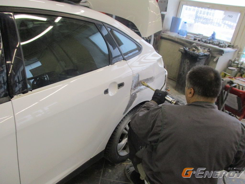 Проверка геометрии и диагностика состояния кузова автомобиля